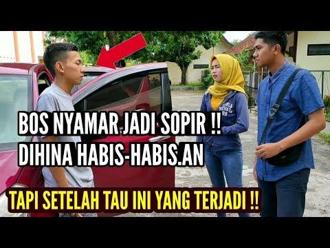 BOS BESAR NYAMAR JADI SOPIR !! Dihina Habis-habis.an