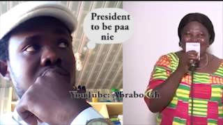 Akua Donkor,The Next President of Ghana. OMG!😱😂 (AbraboComedySeries.. Dairy 21)