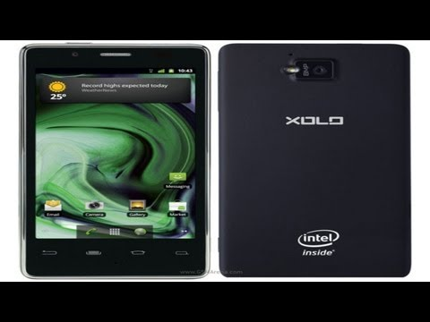 Lava Xolo X900 Intel Smartphone Available Right Now!