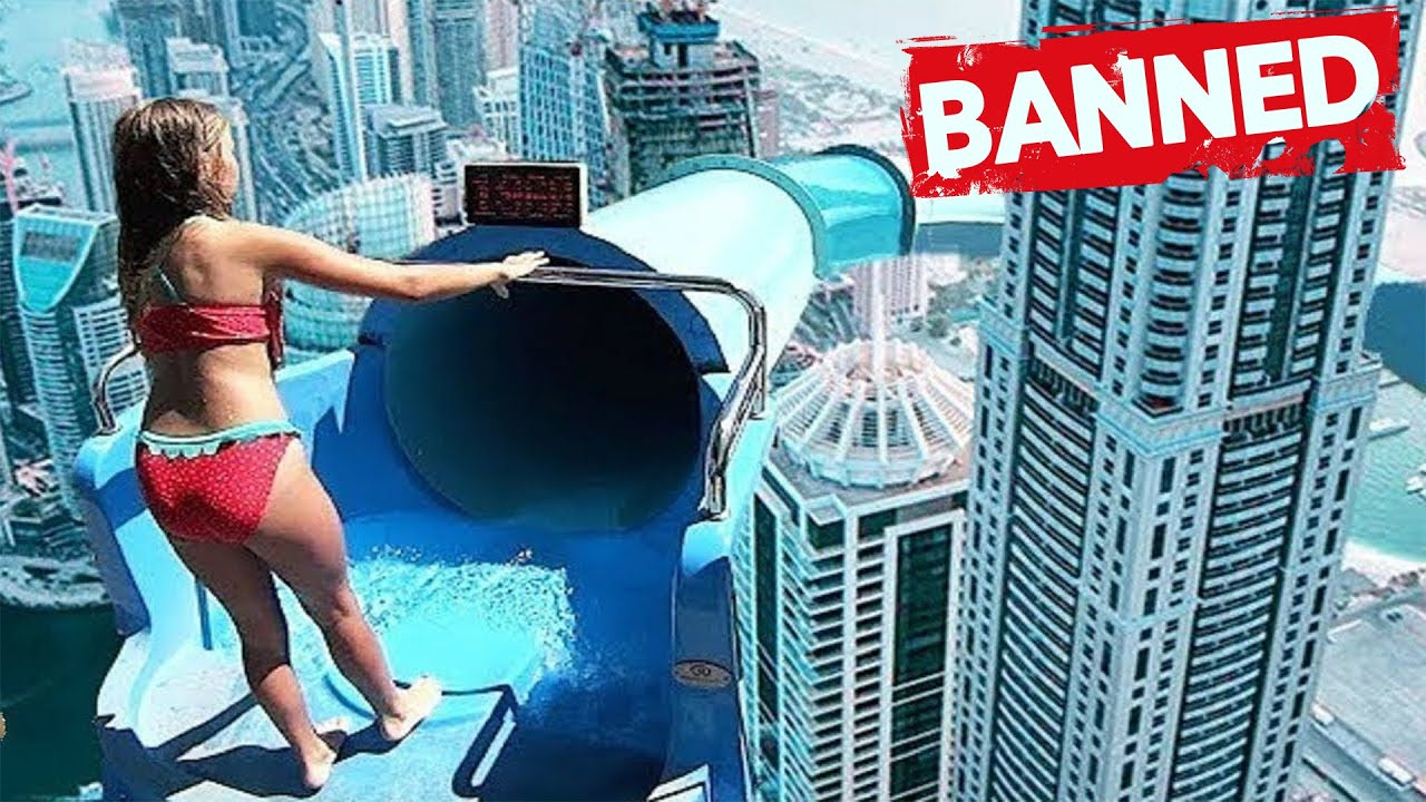 These INSANE WATERSLIDES Are So DANGEROUS they have been BANNED