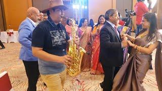 Gulabi aankhen hindi song Instrumental on saxophone by SJ Prasanna (9243104505, Bangalore)