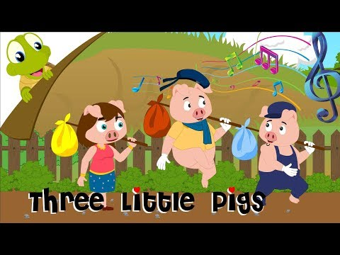 The Three Little Pigs and The Big Bad Wolf | Kids Fairy Tales
