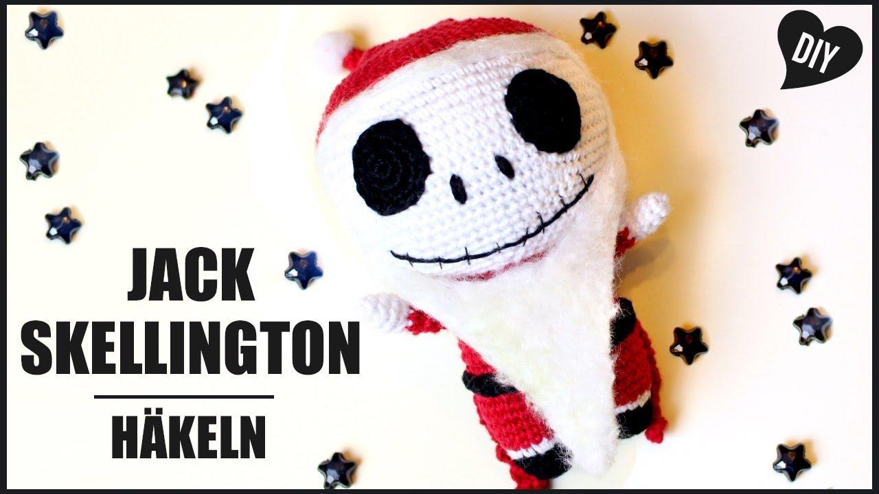 Jack Skellington Free Crochet Pattern • Spin a Yarn Crochet | 720x1280