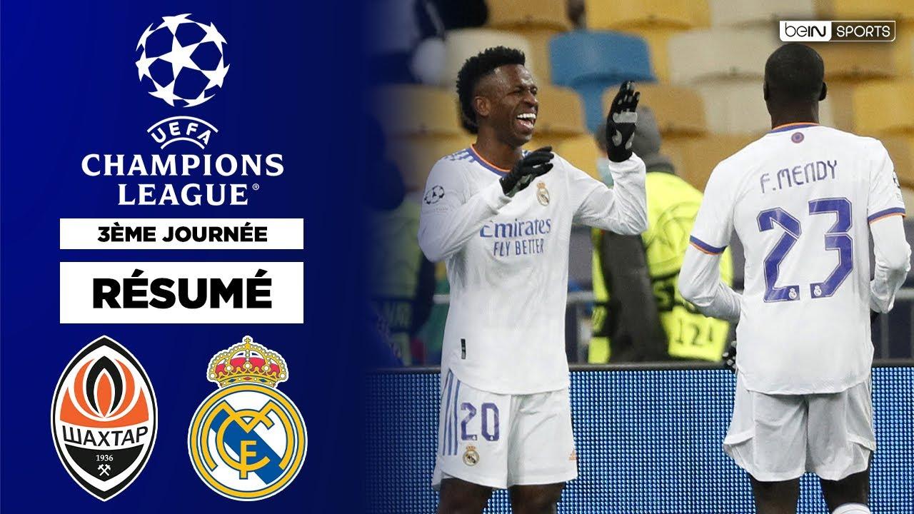 Download Résumé LDC : Le Real Madrid de Benzema et Vinicius explose le Shakthar !