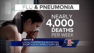 Go-to drug for the flu facing supply shortages