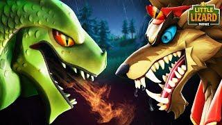 HYBRID VS DIRE  (Dragon vs Werewolf) *NEW SEASON 8*