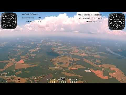 Weather Balloon Launch by NJ High Altitude Science - Project Helios 2017 Solar Eclipse