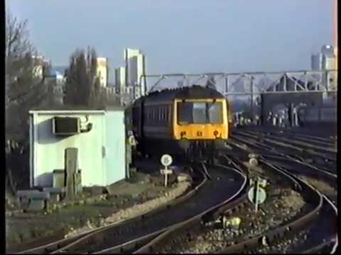 British Rail Network SouthEast DMU & EMUs West to East London