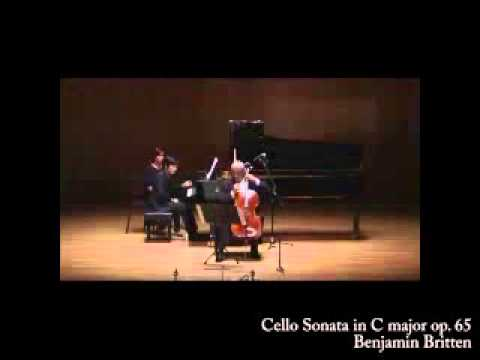 [2013 GMMFS 대관령국제음악제] Britten  Cello Sonata in C major, Op.6