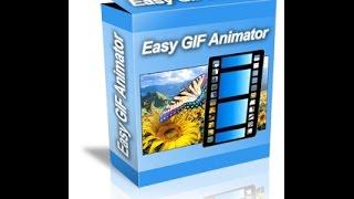 تنصيب وتفعيل برنامج  الصور المتحركة Easy GIF Animator