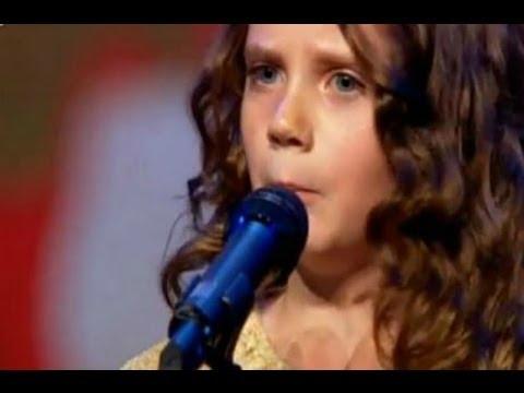Holanda: Pequeña de nueve años canta opera y sorprende en reality
