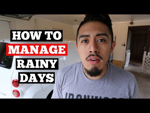 HOW To Manage RAINY Days- Car Detailing Business Tips
