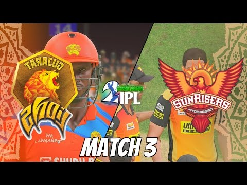 IPL GAMING SERIES 2nd EDITION - GUJARAT LIONS v SUNRISERS HYDERABAD  GROUP 2 MATCH 3