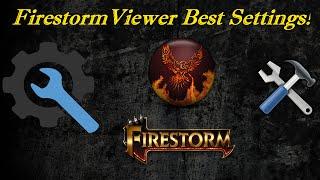 Second Life: Firestorm Viewer Best Settings!