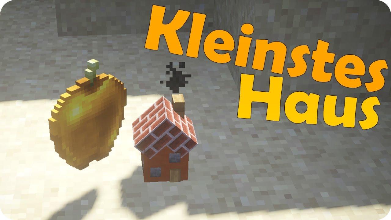 Kleinstes Betretbares Haus In Minecraft Ein Command Pezcraft - Minecraft haus bauen mit command