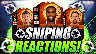 FIFA 18 | SNIPING ULTIMATE SCREAM CARDS ???? SNIPING REACTIONS EP6 ????
