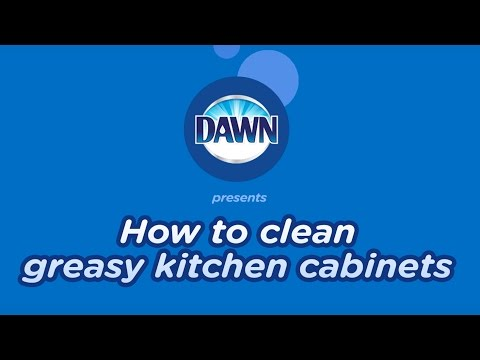 How to Clean Greasy Kitchen Cabinets