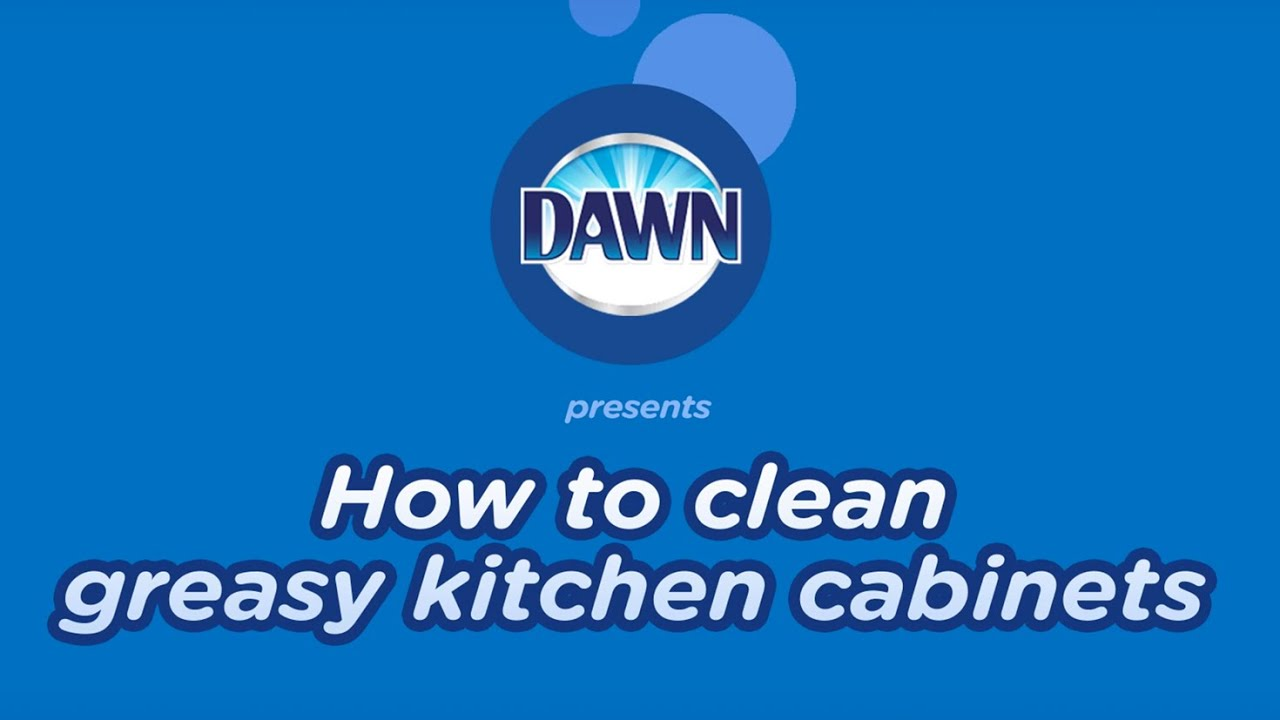 How To Clean Greasy Kitchen Cabinets YouTube - How To Clean Greasy Kitchen Cabinets