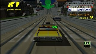 Crazy Taxi PS2 Gameplay HD (PCSX2)