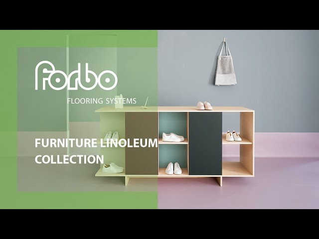 Furniture Linoleum collection impression | Forbo Flooring Systems