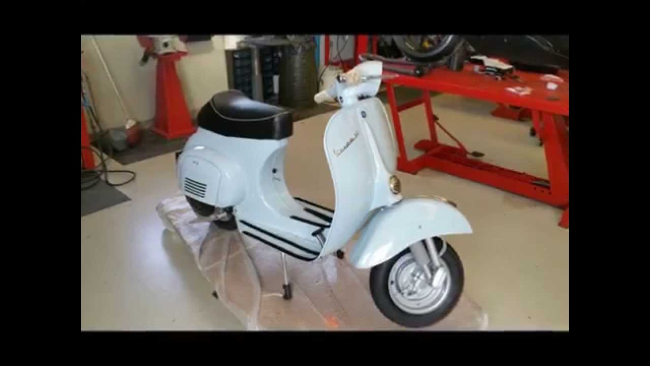 vespa 50 l youtube. Black Bedroom Furniture Sets. Home Design Ideas
