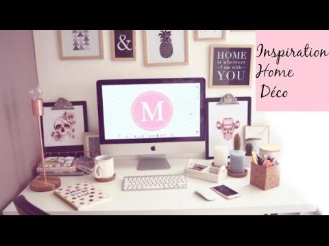 Tumblr Inspired Décoration bureau style scandinave - YouTube
