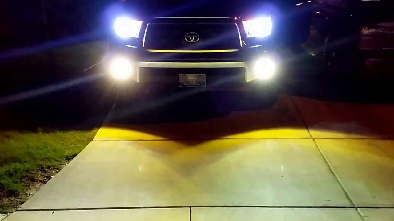 2013 Toyota Tundra Hid Headlights Fog Lights Youtube Light Wiring
