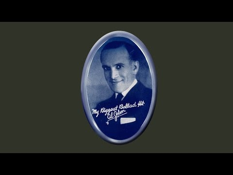 Al Jolson - I Wonder What's Become of Sally (1924)