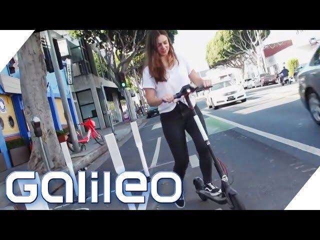 E-Scooter: Wieso sind die neuen Transportmittel so beliebt?   Galileo   ProSieben
