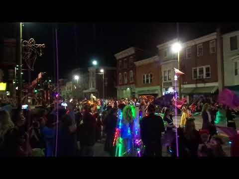 Pine Grove High School Band at the St. Clair Halloween Parade 2017