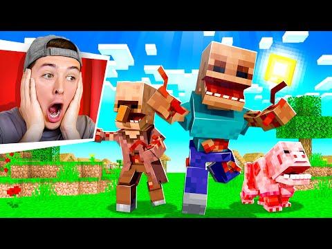 I Secretly Added the Parasite Mod to Minecraft...
