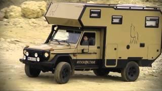 Rockwilder® Expeditionsfahrzeug, Mercedes G, Weltreisemobil, Fels und Stein
