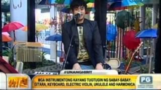 """Unang Hirit: UH Morning Star Elmerjun """"One Man Band"""" Hilario"""