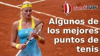 Vídeo con algunos de los mejores puntos de tenis