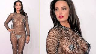 AMA 2014 | Bleona Qereti Hot See Through With Nipple pasties