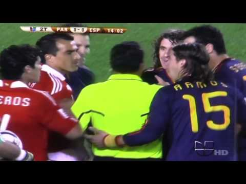 (HD) FULL Highlights: Spain Vs. Paraguay (2010 World Cup)