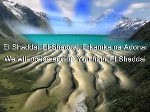 Amy Grant   El Shaddai Karaoke Original Instrumental Version