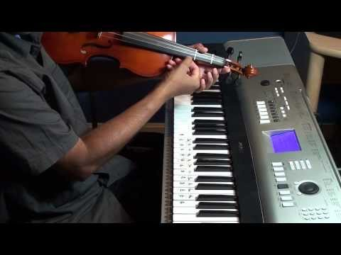 Tuning  Carnatic violin to play absolute notes by setting 'Sa' to C.