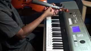 Tuning  Carnatic violin to play absolute notes of Iddarammayilatho violin song.