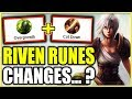 RIVEN IS NOW BETTER THAN EVER?! Rune Changes! Patch Notes 9.7 Rundown