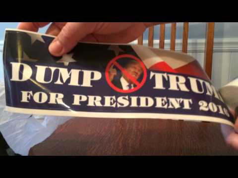 Donald Trump Toilet Paper - Dump Trump