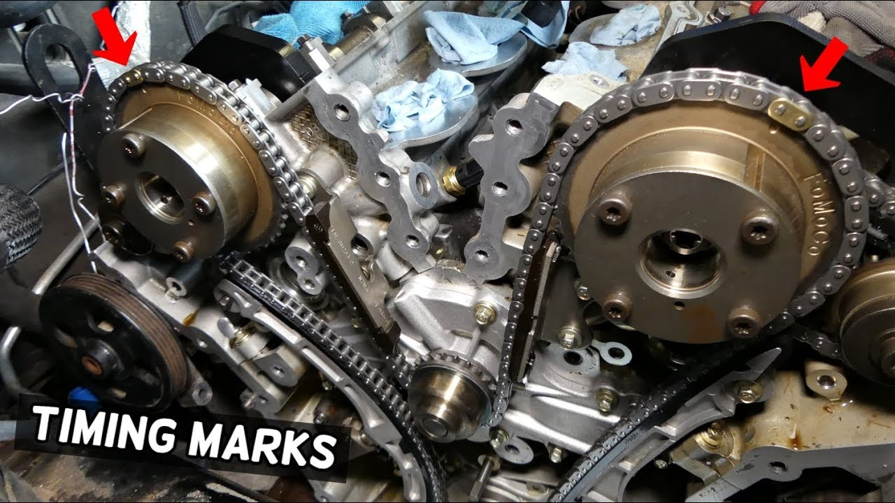 Timing Chain Marks Lincoln Mkx  Mkz  Mks  Mkt 3 5 3 7