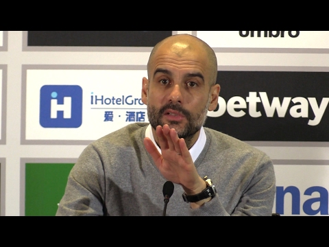 West Ham 0-4 Manchester City - Pep Guardiola Full Post Match Press Conference