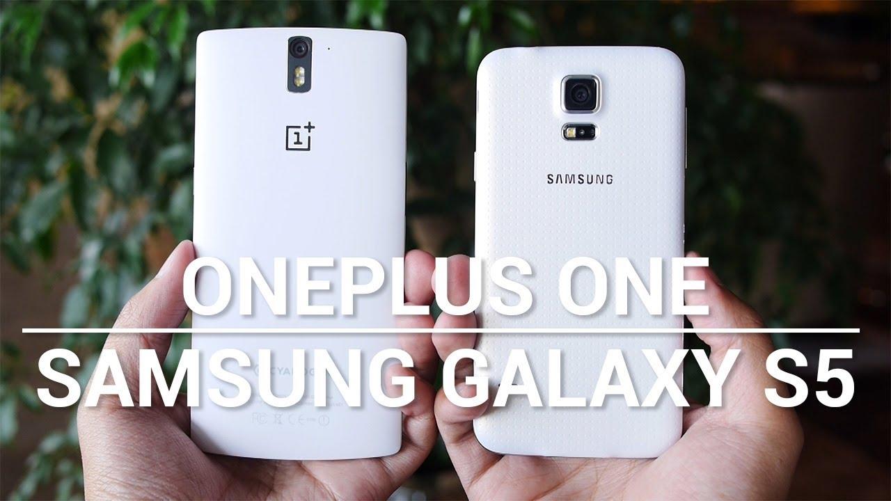 OnePlus One vs Samsung Galaxy S5 - Quick Look