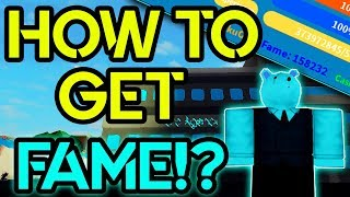 HOW TO GET ALOT OF FAME FAST!? BOKU NO ROBLOX REMASTERED| ROBLOX | Builderboy TV