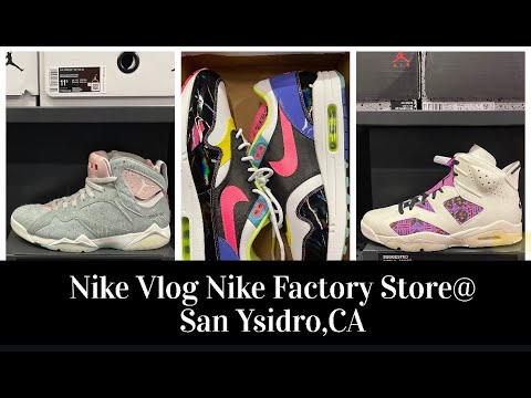 margen Hermanos a tiempo  Nike Factory Store Las Americas 20% OFF Hash Wall l 30% Entire Purchase 4  Nike Plus Members and more - YouTube