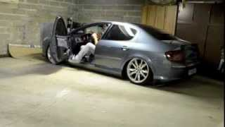 peugeot 407 on air ride