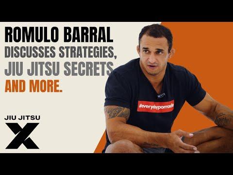 Romulo Barral Discusses Strategies, Jiu Jitsu Secrets & More | Jiu Jitsu X