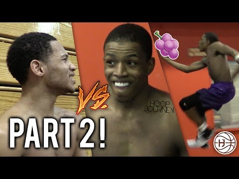 Thumbnail: Jelly Fam 🍇 vs Mr. NYC 1 on 1! Isaiah Washington and Markquis Nowell GETS HEATED! PART 2