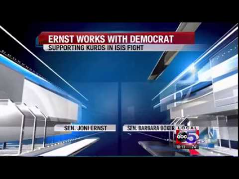 WOI: Sen  Ernst Introduces Legislation In Support of Fight Against ISIS
